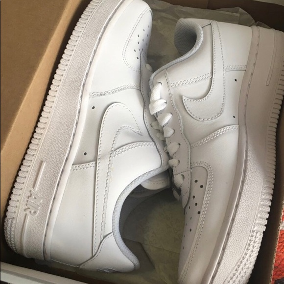 All White Air Force Ones
